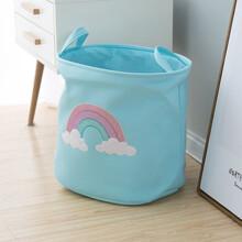 Корзина для игрушек, белья, хранения Радуга оптом (код товара: 49035)