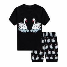 Піжама дитяча Лебеді оптом (код товара: 49021)