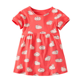 Платье для девочки Белый кролик (код товара: 49067): купить в Berni