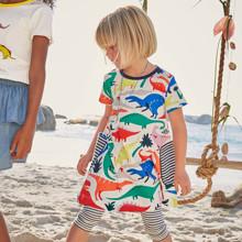 Платье для девочки Динозавры (код товара: 49078)