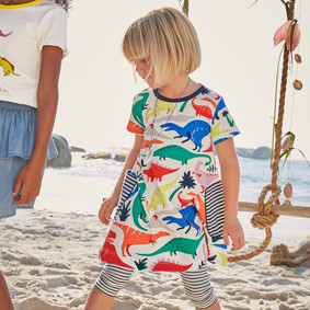 Платье для девочки Динозавры (код товара: 49078): купить в Berni