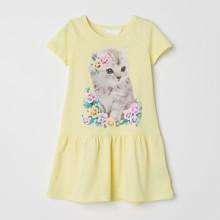 Платье для девочки Кошка (код товара: 49068)