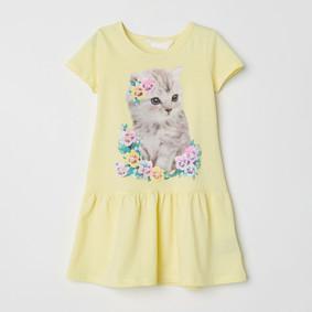Платье для девочки Кошка (код товара: 49068): купить в Berni