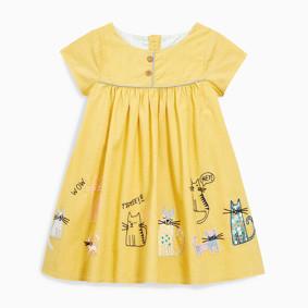 Платье для девочки Котики (код товара: 49057): купить в Berni
