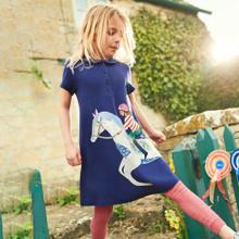 Платье для девочки Лошадка (код товара: 49055)