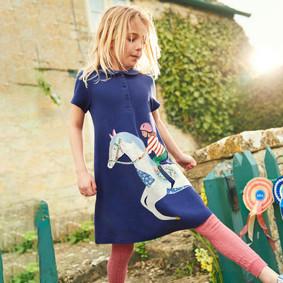 Платье для девочки Лошадка (код товара: 49055): купить в Berni