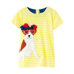 Платье для девочки Собака (код товара: 49064): купить в Berni