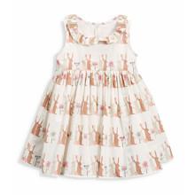 Платье для девочки Зайцы (код товара: 49063)