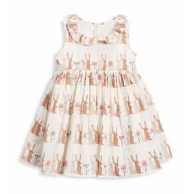 Платье для девочки Зайцы (код товара: 49063): купить в Berni