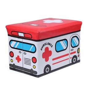 Пуф-ящик для игрушек Cкорая помощь (код товара: 49007): купить в Berni