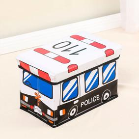 Пуф-ящик для игрушек Полицейский автобус (код товара: 49006): купить в Berni