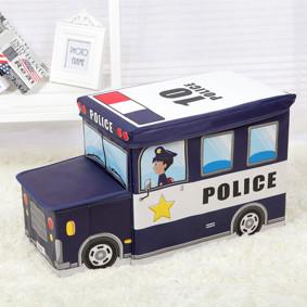 Пуф-ящик для игрушек Полицейский фургон (код товара: 49000): купить в Berni