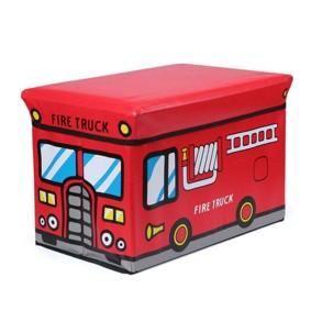 Пуф-ящик для игрушек Пожарная машина (код товара: 49003): купить в Berni