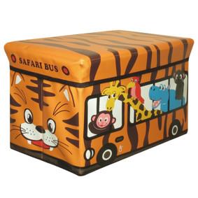 Пуф-ящик для игрушек Сафари автобус (код товара: 49009): купить в Berni