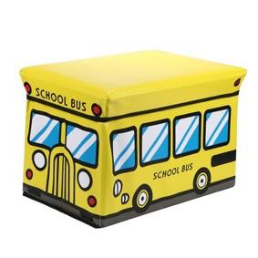 Пуф-ящик для игрушек Школьный автобус (код товара: 49004): купить в Berni