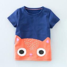 Детская футболка Котик оптом (код товара: 49115): купить в Berni