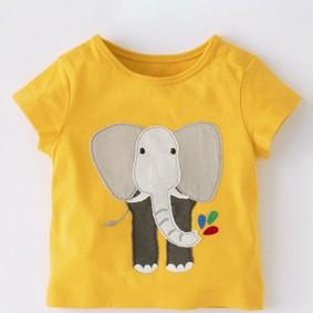 Детская футболка Слон (код товара: 49112): купить в Berni