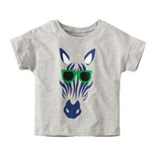 Детская футболка Зебра в очках (код товара: 49108)