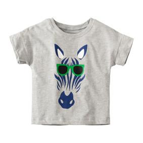 Детская футболка Зебра в очках (код товара: 49108): купить в Berni