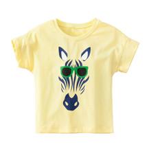 Детская футболка Зебра в очках (код товара: 49109)