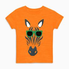 Детская футболка Зебра в очках (код товара: 49110)