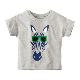 Дитяча футболка Зебра в окулярах (код товару: 49108): купити в Berni