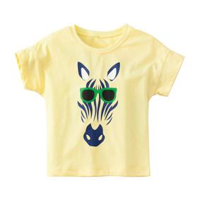 Дитяча футболка Зебра в окулярах (код товару: 49109): купити в Berni