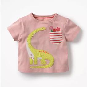 Футболка для девочки Динозавр (код товара: 49174): купить в Berni