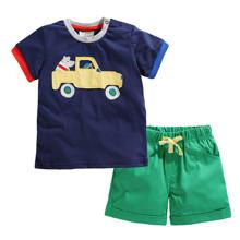 Костюм 2 в 1 для хлопчика Машина оптом (код товара: 49156)