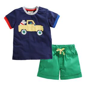 Костюм 2 в 1 для хлопчика Машина (код товару: 49156): купити в Berni