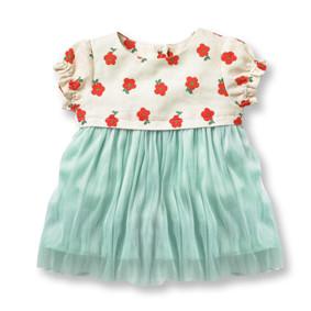Платье для девочки Цветы оптом (код товара: 49182): купить в Berni