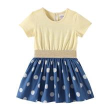 Платье для девочки Крупный горошек (код товара: 49180)