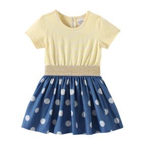 Платье для девочки Крупный горошек оптом (код товара: 49180): купить в Berni