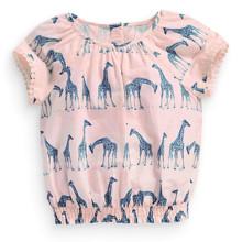 Туника для девочки Жирафы (код товара: 49175)