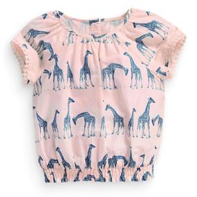 Туника для девочки Жирафы (код товара: 49175): купить в Berni
