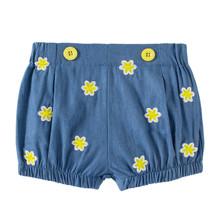 Джинсовые шорты для девочки Цветочки (код товара: 49200)