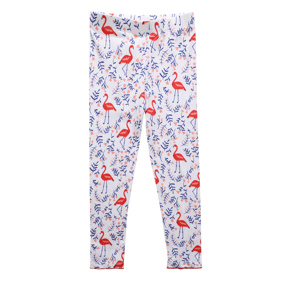 Леггинсы для девочки Розовый фламинго (код товара: 49237): купить в Berni