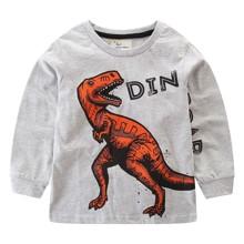Лонгслив для мальчика Большой динозавр оптом (код товара: 49288)