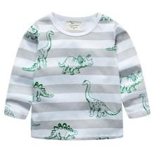 Лонгслив для мальчика Динозавры оптом (код товара: 49286)