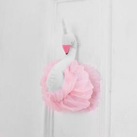 Мягкая игрушка украшение Лебедь (код товара: 49262): купить в Berni