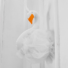 Мягкая игрушка украшение Лебедь (код товара: 49263)
