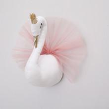 Мягкая игрушка украшение Лебедь (код товара: 49266)