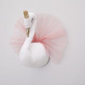 Мягкая игрушка украшение Лебедь (код товара: 49266): купить в Berni