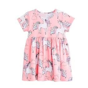 Платье для девочки Белый единорог (код товара: 49215): купить в Berni
