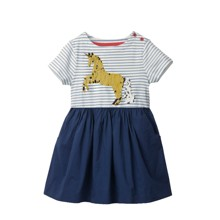 Платье для девочки Блестящий единорог (код товара: 49216)