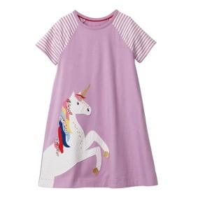 Платье для девочки Единорог (код товара: 49224): купить в Berni