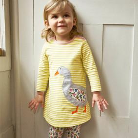 Платье для девочки Гусь (код товара: 49225): купить в Berni