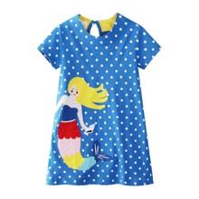 Платье для девочки Русалка (код товара: 49219)