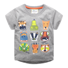 Детская футболка Африканские животные оптом (код товара: 49352)