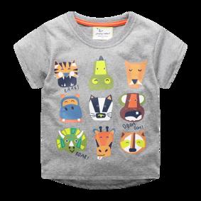 Детская футболка Африканские животные (код товара: 49352): купить в Berni